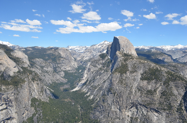 Der Half Dome im Yosemite National Park vom Glacier Point